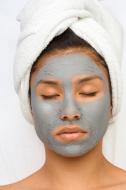 blue mask photo